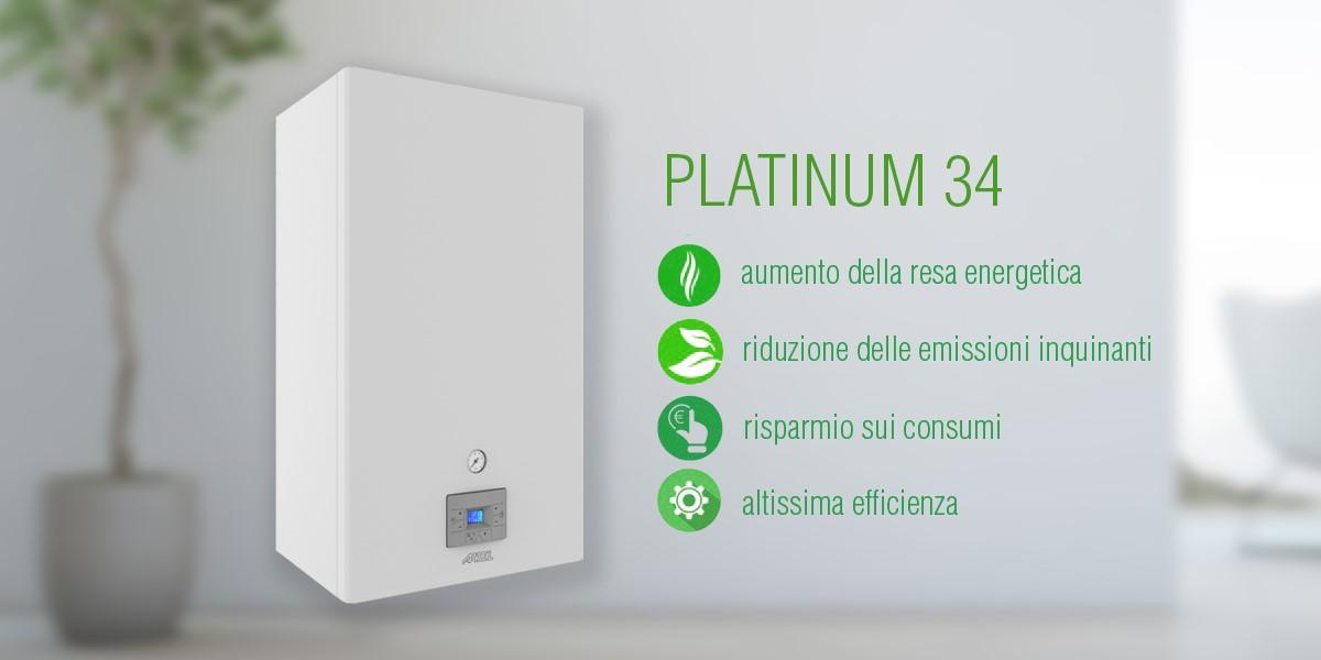 Caldaia a condensazione Platinum Artel