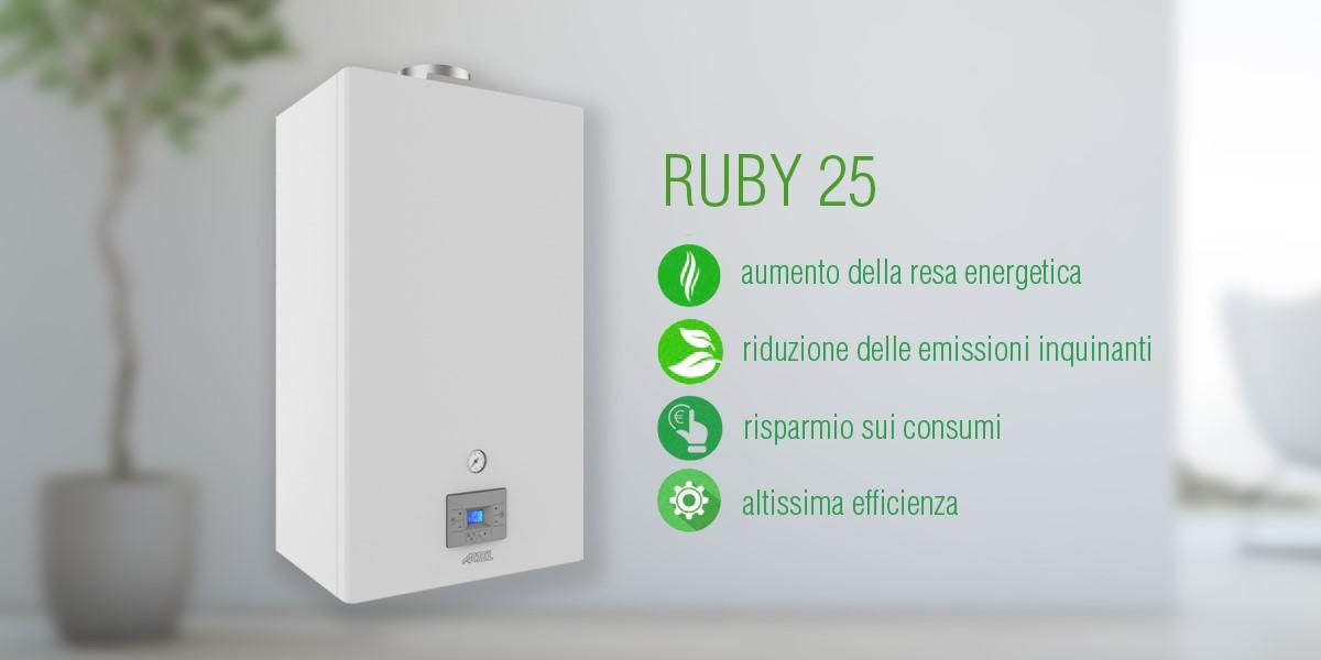 Caldaia gas a condensazione Ruby